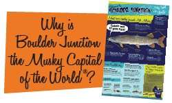 Why is Boulder Junction the Musky Capital of the World