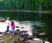 Family fun in the northwoods