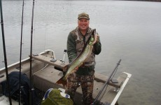 Musky fishing in the fall