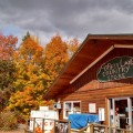 Forest Lake Country Store in the fall