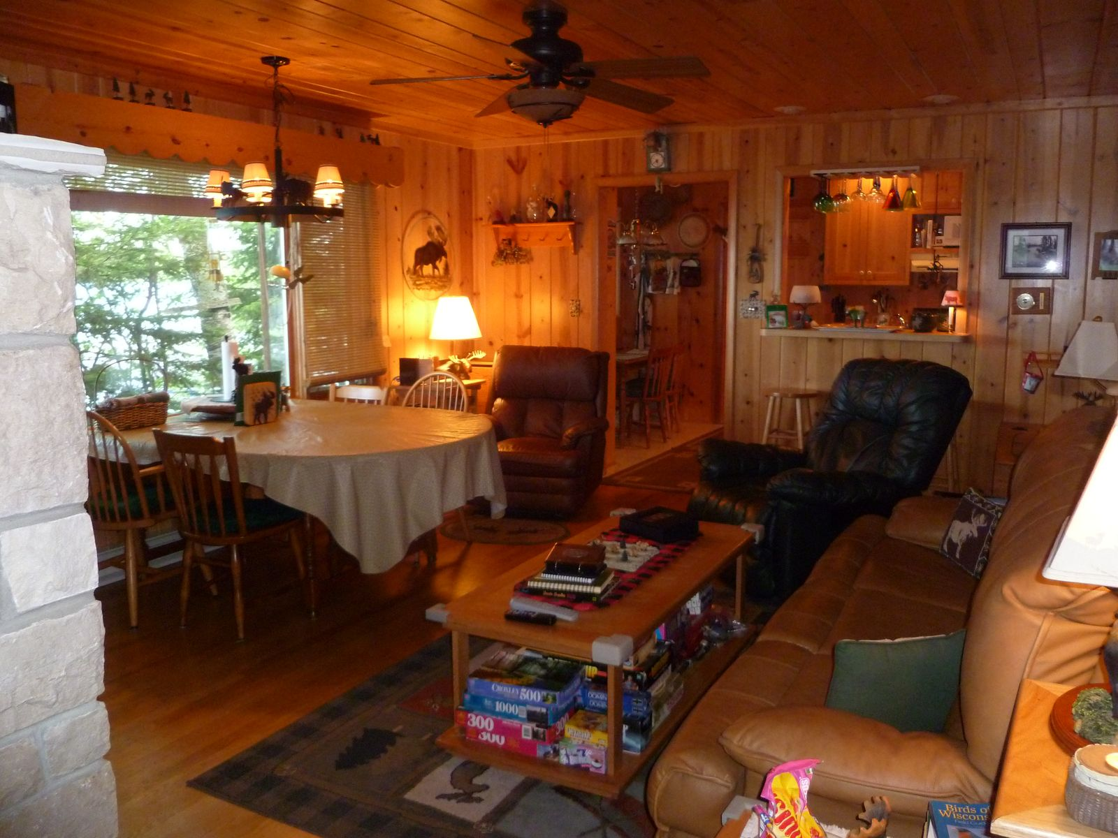 cabins lake northern cove wi clam rentals lodge cabin lodging homes vacation wisconsin crystal