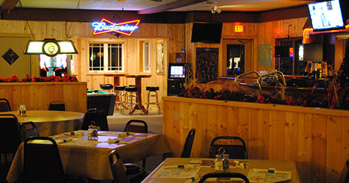 Fun You Would Expect From The Great Northwoods Enjoy Lunch Or Dinner On Our Riverside Deck Free Wi Fi Hwy M Just 2 Blocks North Of Town