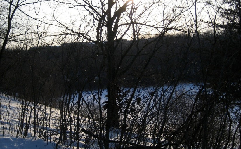 Great snowshoeing route: WinMan Trails