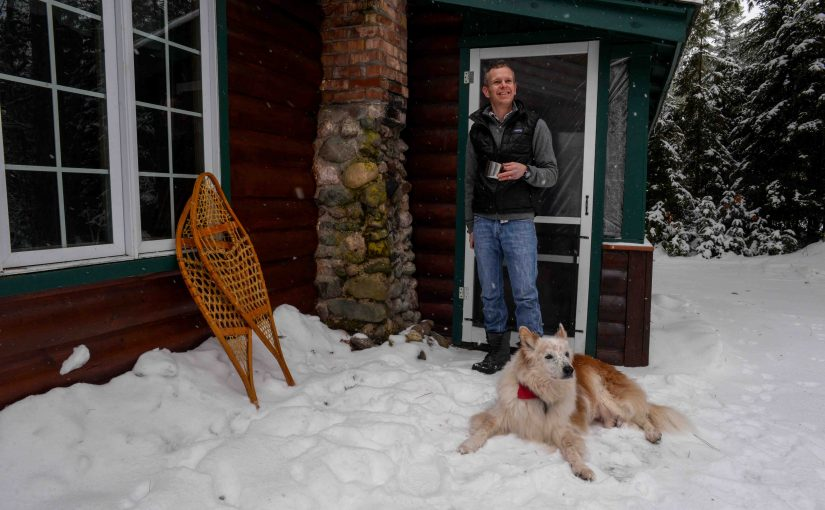 Getting ready for winter in Boulder Junction