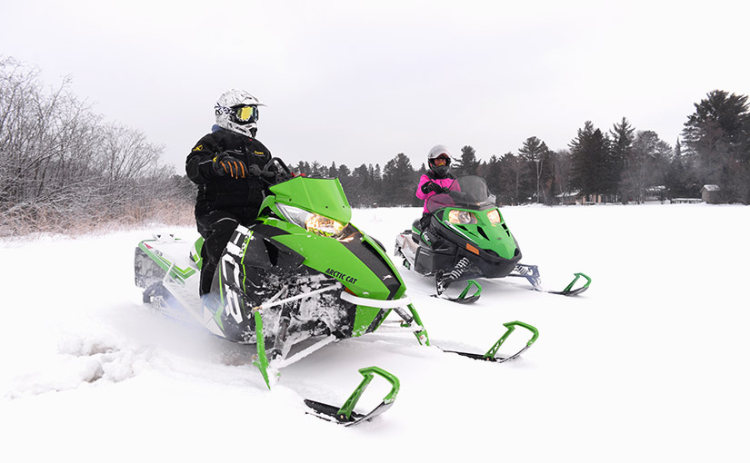 Snowmobile vacations in Boulder Junction