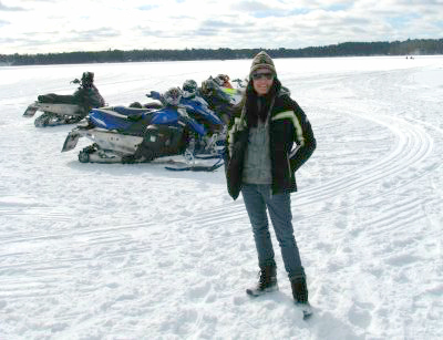 What snowmobile trails will you explore?