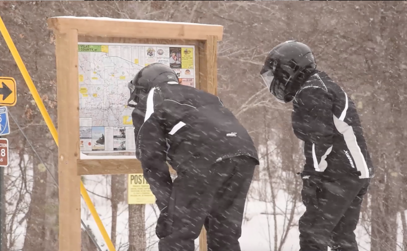 Snowmobiling 101: Reading a snowmobile map