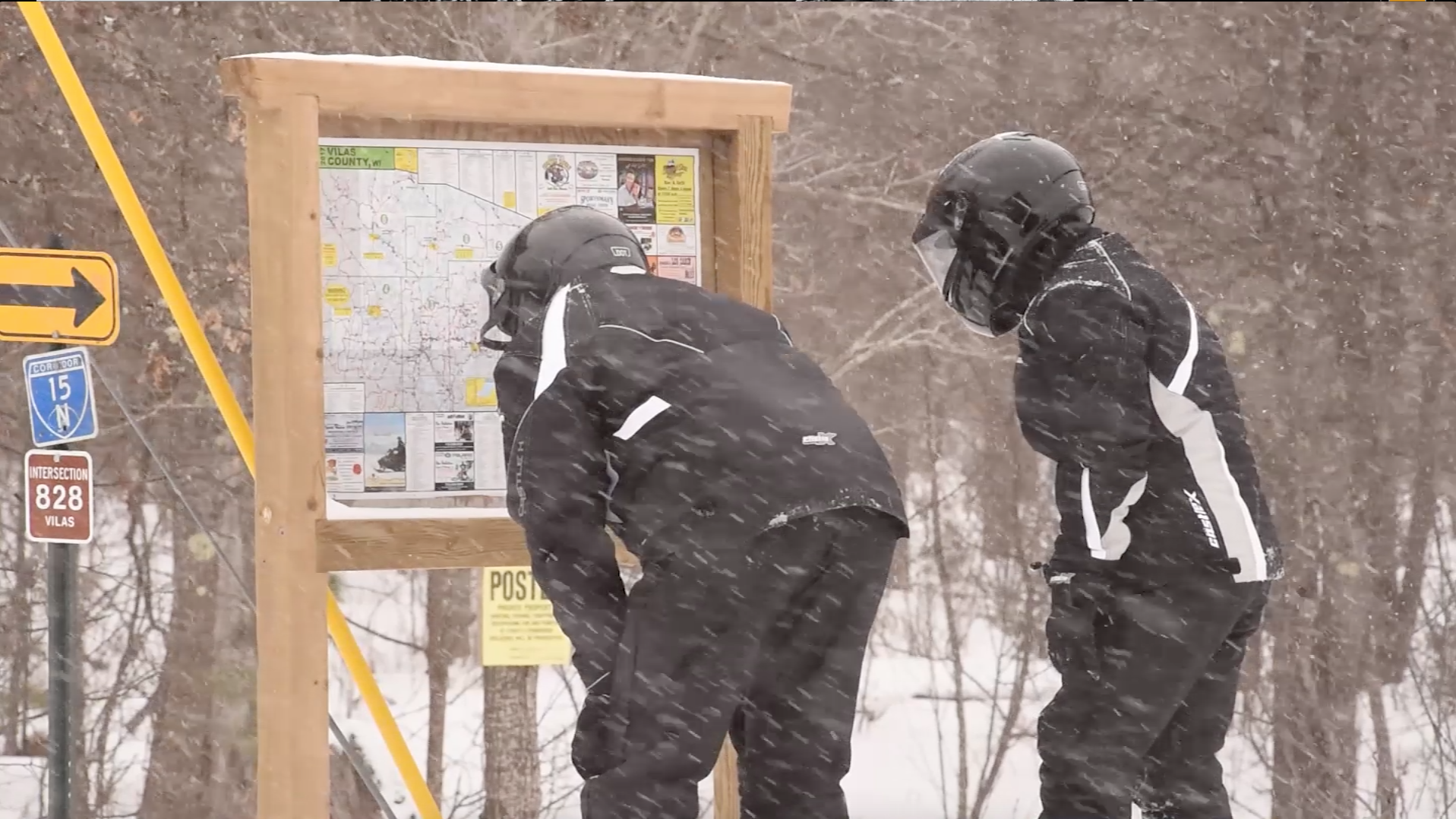 Snowmobiling 101: Reading a snowmobile map - Boulder Junction