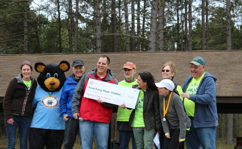Forest Frenzy Winter Triathlon Sprints into First Year with Help From Tourism Grant