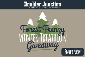 BOULDER JUNCTION FOREST FRENZY WINTER TRIATHLON GIVEAWAY