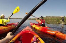 Kayaking the waterways this fall