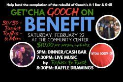 Gooch's A 1 Benefit Facebook Event Photo