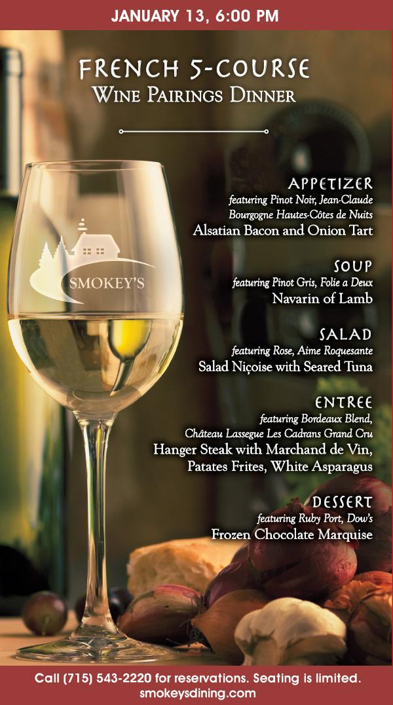 20 1617 French Wine Pairings Smokey's Event Chamber Ad (002)