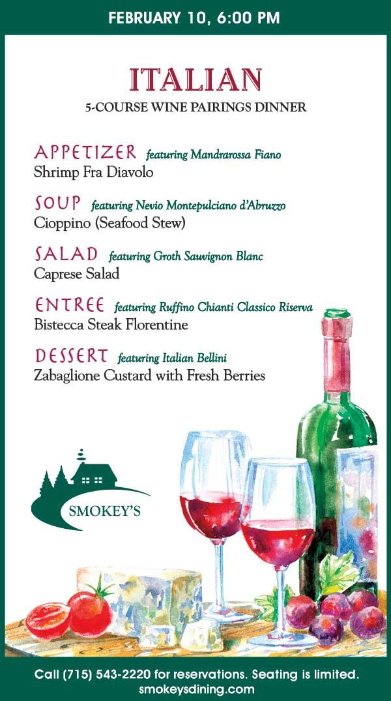 20 1618 Italian Wine Pairing Smokey's Event Chamber Ad (002)