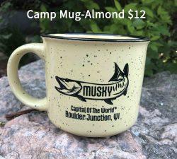 Musky Capitol Camp Mug Almond