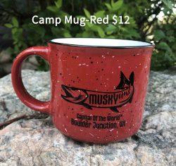 Musky Capitol Camp Mug Red