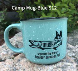 Musky Capitol Camp Mug Blue